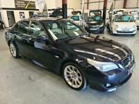 2005 BMW 530D M SPORT-FSH-AUTO-LOVELY CAR TO DRIVE MUST BE SEEN-THE ULTIMATE DRI