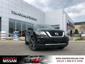 2017 Nissan Pathfinder,one owner ,fully loaded accident free tra
