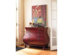 Hooker Furniture Living Room Red Bombe Chest  NEW ** MARCH BREAK BLOW OUT SALE ** 5 CORNERS FURNITURE **