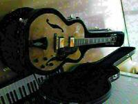 RARE and Unused Ibanez Birdseye Maple 1of6 Artcore AF105BM-NT Ltd Edit Guitar SWAP Car Van Motorbike