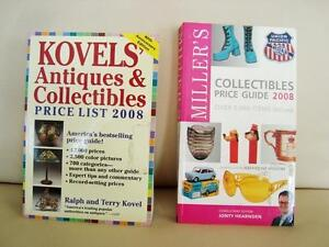 2 Books for Avid Collectors-Kovels/Millers Collectible $6/both