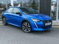 2020 Peugeot 208 50kWh GT Auto 5dr Hatchback Electric Automatic