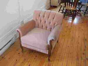 Couch & chair sofa et chaise