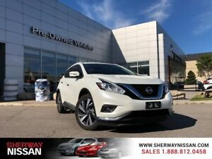 2016 Nissan Murano platinum pkge,one owner trade,only 39000kms