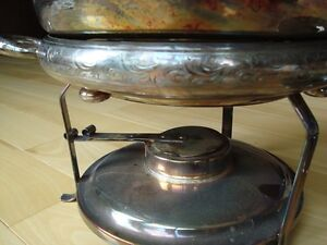 Vintage Copper Chafing/ Warming / Fondue Pot - Great Condition Kitchener / Waterloo Kitchener Area image 2