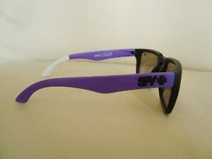 "Spy Mens Sunglasses Helm ""Block"" Black / Purple- Brand New"