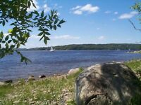 Private Waterfront Cottage, 11acres St John River, Weekly Rental