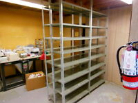 Industrial Steel Shelving - like new