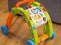 Little Tikes Light 'n Go 3 in 1 Activity And Walker