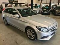 2014 Mercedes-Benz C220 BLUETEC SPORT-PADDLE SHIFT 7 SPEED AUTOMATIC-ONLY 2 FOME
