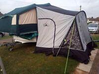 2002 Conway Cruiser Folding Camper