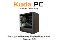KUDA PC - HIGH END CUSTOM PCs - LAPTOP AND DESKTOP REPAIR/UPGRADES - SOFTWARE - LOCAL BUSINESS