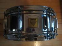 """Yamaha Power V Snare 6.5""""x14"""" - Made in England"""