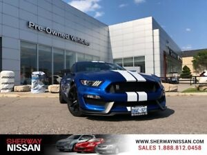 2017 Ford Mustang Shelby GT 350,only 14768km with a $3000.00 ext