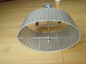 "Hanging Chrome Swivel Lamp - 29"" long x 14"" wide - Works Perfect Kitchener / Waterloo Kitchener Area image 3"