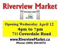 Riverview MARKET Season 2017 Grand-Opening