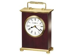 Rosewood Bracket Table Top Clock by Howard Miller