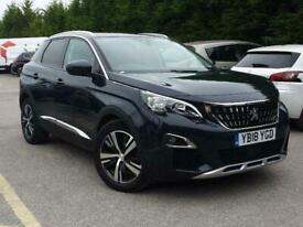 image for 2018 Peugeot 3008 SUV 1.5 BlueHDi Allure (s/s) 5dr SUV Diesel Manual