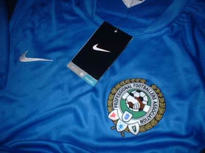 Players PFA Nike BNWT Shirt Jersey Soccer Adult Medium Football New England Top