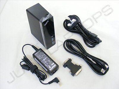 New USB 3.0 DVI Display Docking Station Port Replicator + PSU for Samsung Laptop