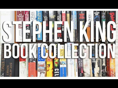 Stephen King Bundle 68 BOOKS (1974 - 2012) Complete Novels Audiobooks Unabridged