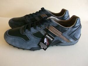 Geox Respira Italian Patent Shoes for Men, Brand New