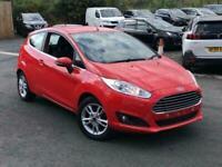 2014 Ford Fiesta 1.25 Zetec 3dr Hatchback Petrol Manual