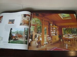 Coffee Table Book -Living Treasures Lindal Cedar Homes -231Pages Kitchener / Waterloo Kitchener Area image 2