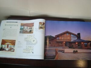 Coffee Table Book -Living Treasures Lindal Cedar Homes -231Pages Kitchener / Waterloo Kitchener Area image 4