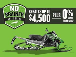 SASKATCHEWAN's CHEAPEST ARCTIC CAT SLEDS! CALL TODAY!