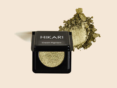 Lot of 2 HIKARI Cream Pigment Eyeshadow ENVY 2 g / .07 oz Each NEW