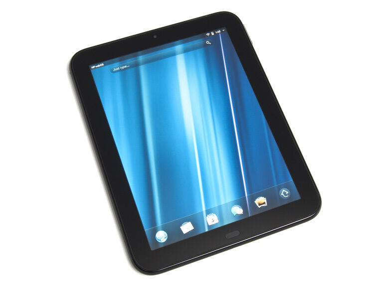 "HP TouchPad FB359UA 32GB 1.2GHZ 9.7"" Android 7.1.2 TABLET Glossy Black PERFECT++"