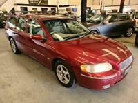 2005 Volvo V70 2.4 D5 SE SPEC-FSH-RED-ESTATE-DRIVES LOVELY-GREAT FAMILY CAR Esta