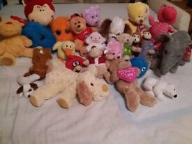 Bundle of Soft Toys (24 items)