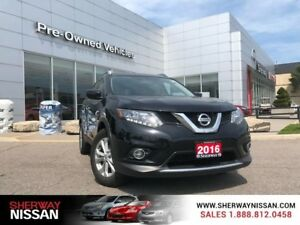 2016 Nissan Rogue SV Fwd,one owner accident free trade,only 2100