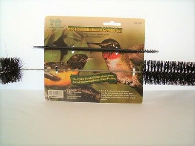 Bird Feeder Hummingbird Birdfeeder Cleaning Brush Kit, Set 2