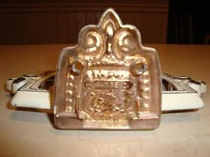 Vintage Cast Metal Soap Dish Holder-From an Old Hotel in Preston Kitchener / Waterloo Kitchener Area image 3