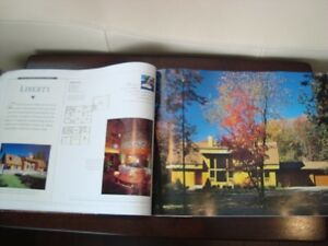 Coffee Table Book -Living Treasures Lindal Cedar Homes -231Pages Kitchener / Waterloo Kitchener Area image 3