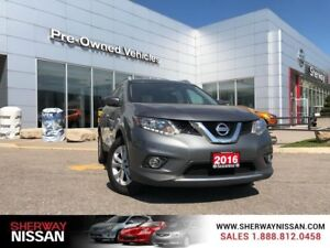 2016 Nissan Rogue SV,one owner accident free trade