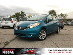 2014 Nissan Versa Note SL,only 55800 km ,snow tires include.Clea