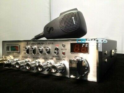 Cobra 29 Ltd Classic Cb Radio - PERFORMANCE TUNED + RECEIVE
