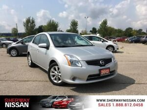 2012 Nissan Sentra,accident free ,one owner trade, only 42000km