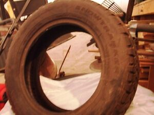 1  SNOW  TRAKKER  SNOW  TIRE  195/65/15 London Ontario image 1