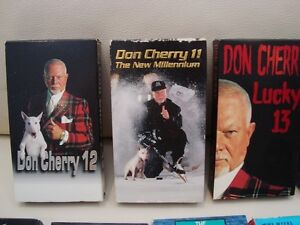 Lot of 8 VHS Tapes - Don Cherry x3,Tie Domi, Batman +More Kitchener / Waterloo Kitchener Area image 2