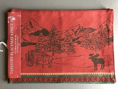 Moose Mountains Cabin Placemats 13