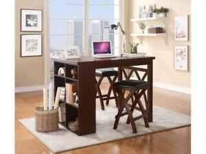 Homelegance Dining Room 3pc Pk Counter Height Table NEW ** 5 CORNERS FURNITURE**