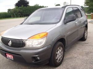 2003 Buick Rendezvous CX. 6 Cylinder 126000 km