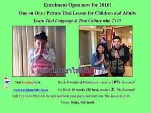 TTP-Thai Teaching Perth Balga Stirling Area Preview