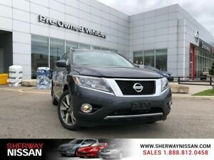 2014 Nissan Pathfinder Platinum awd with navigation,one owner ac