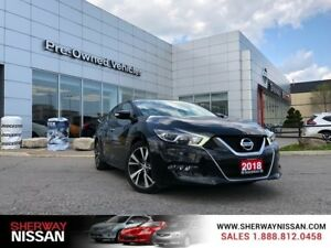 2018 Nissan Maxima SL, only 11000 kms,accident free, priced to s